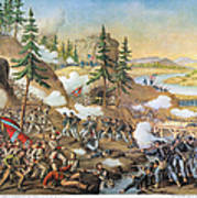 Battle Of Chattanooga 1863 Poster by Granger