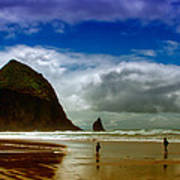 Cannon Beach At Dusk Poster by David Patterson