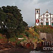 Church By The Sea Poster by Gaspar Avila