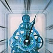 Clock Mechanism Poster by Victor De Schwanberg