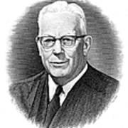 Earl Warren (1891-1974) Poster by Granger