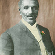 George W. Carver, African-american Poster by Science Source