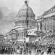 Grants Inauguration, 1873 Poster by Granger