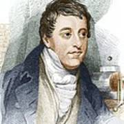 Humphry Davy, English Chemist Poster by Sheila Terry