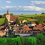 Hunawihr Alsace Poster by Brian Jannsen