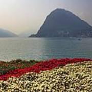 Lake Lugano - Monte Salvatore Poster by Joana Kruse