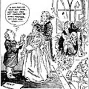 League Of Nations Cartoon Poster by Granger