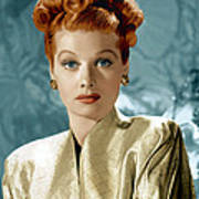 Lucille Ball, Ca. Mid-1940s Poster by Everett