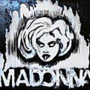 Madonna Poster by Cat Jackson