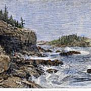 Maine: Mount Desert Island Poster by Granger