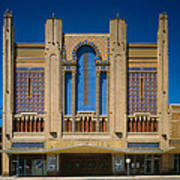 Movie Theaters, Missouri Theater Poster by Everett