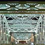 Nashville By Night Bridge 2 Poster by Douglas Barnett