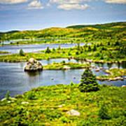Newfoundland Landscape Poster by Elena Elisseeva
