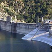 San Gabriel Dam Poster by Viktor Savchenko