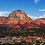 Sedona Red Rock Poster by Lisa  Spencer