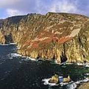 Slieve League, Co Donegal, Ireland Poster by The Irish Image Collection