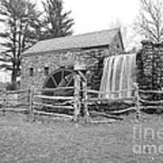 Sudbury Grist Mill  Poster by Catherine Reusch  Daley