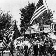 Us Civil Rights. Demonstrators Poster by Everett