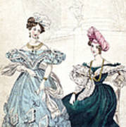 Womens Fashion, 1833 Poster by Granger