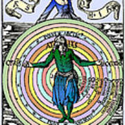 16th-century Astronomy Poster by Cordelia Molloy