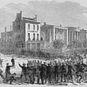 1866 Race Riot In New Orleans Was One Poster by Everett
