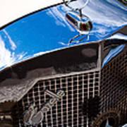 1929 Mercedes Ssk Gazelle Roadster Poster by David Patterson