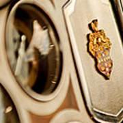 1934 Packard 1104 Super Eight Phaeton Emblem Poster by Jill Reger