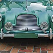 1955 Aston Martin Poster by Jill Reger