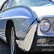 1963 Ford Thunderbird Limited Edition Landau Poster by Al Bourassa