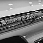 1964 Ford Galaxie 500 Xl Poster by Gordon Dean II