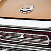 1966 Ford Thunderbird Poster by Gordon Dean II