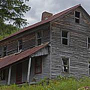 Abandoned Homestead Poster by John Stephens