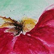 Abstract Flower  Poster by Ismeta Gruenwald