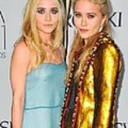 Ashley Olsen Wearing The Row, Mary-kate Poster by Everett