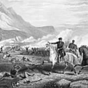 Battle Of Buena Vista, 1847 Poster by Granger