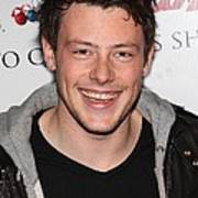 Cory Monteith At In-store Appearance Poster by Everett