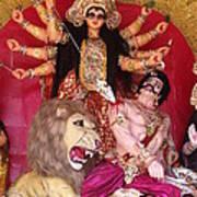 Durga Goddess 2012 Poster by Rajan Advani
