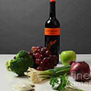 Foods Rich In Quercetin Poster by Photo Researchers, Inc.