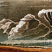 German Cloud Atlas, 1819 Poster by Science Source