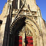 Heinz Chapel Doors Poster by Thomas R Fletcher