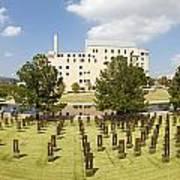 Oklahoma City National Memorial Poster by Ricky Barnard