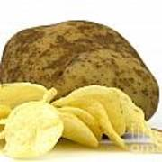 Potato Chips Poster by Blink Images