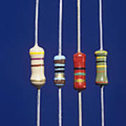 Resistors Poster by Andrew Lambert Photography