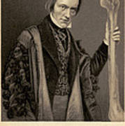 Richard Owen, English Paleontologist Poster by Science Source