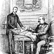 Roosevelt Cartoon, 1884 Poster by Granger