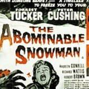 The Abominable Snowman, Aka The Poster by Everett