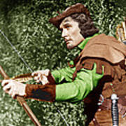 The Adventures Of Robin Hood, Errol Poster by Everett