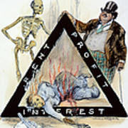 Triangle Factory Fire Poster by Granger