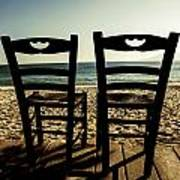 Two Chairs Poster by Joana Kruse