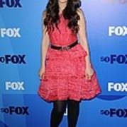 Zooey Deschanel At Arrivals For Fox Poster by Everett